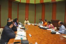 Meeting of Grants Committee